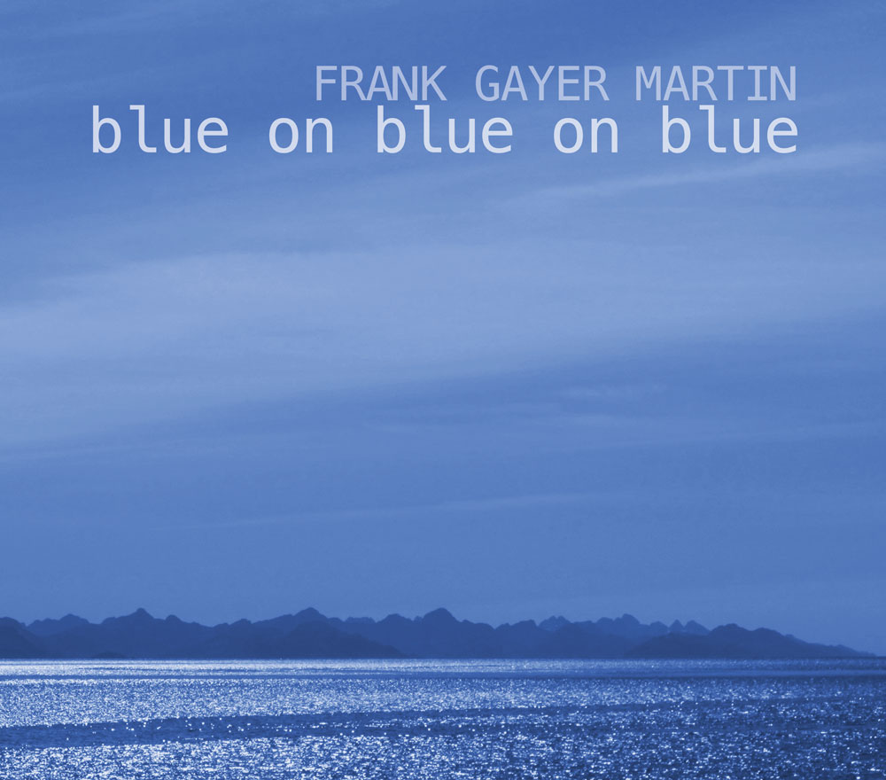graphic - Blue on Blue on Blue CD cover